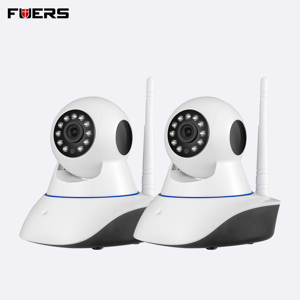 Fuers 2PCS 2MP 1080P Full HD Indoor Wireless Home Security WiFi Surveillance IP Camera Night Vision Support 64GB TF CardFuers 2PCS 2MP 1080P Full HD Indoor Wireless Home Security WiFi Surveillance IP Camera Night Vision Support 64GB TF Card