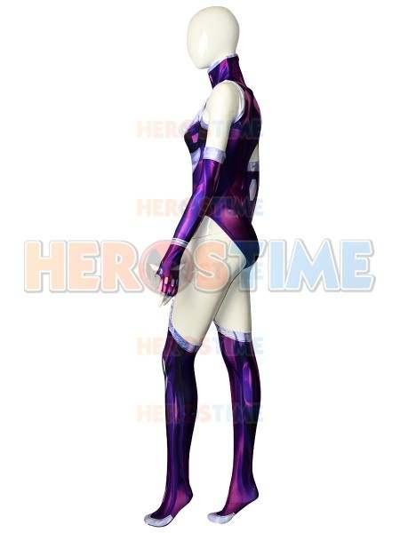 Teen in sexy superhero costume