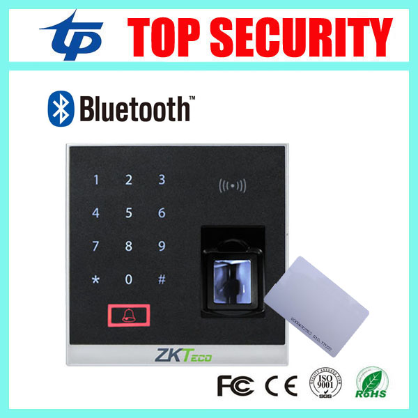 Fingerprint Access Control with RFID card reader ZK X8-BT biometric fingerprint access control system supports Bluetooth biometric fingerprint access controller tcp ip fingerprint door access control reader