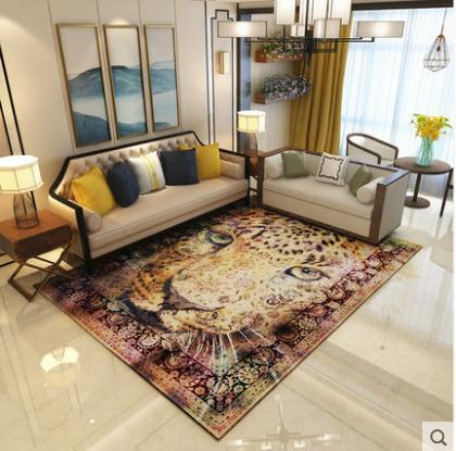 Livraison gratuite 300x400 cm Épaississent tapis de chambre salon impression couvertures maison tapis toilette de salle de bain coussins porte moquette tapis