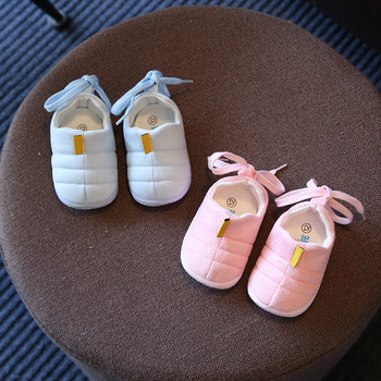 Baby Toddler Shoes Spring 2019 New Infant Cloth Soft Bottom Shoes Girls Shoes