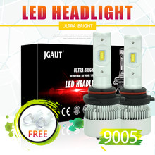 LOAUT R3 Mini 9005 9006 HB3 HB4 LED Headlight Kit 6500K White Fog High Low Beam Turbo Driving Car Bulbs Lamps Light Conversion(China)