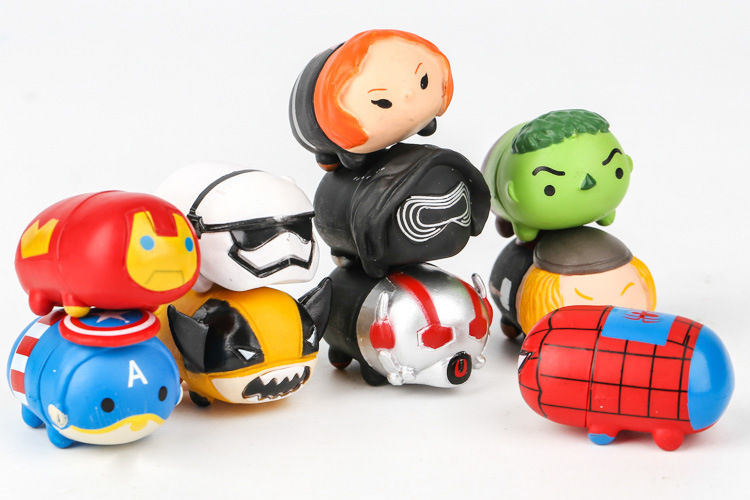 Detail Feedback Questions About Hot Sale Tsum Tsum Sets Action