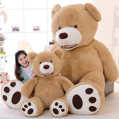 1 PC 100cm The Giant Teddy Bear Plush Toy Stuffed Animal High Quality kids Toys Birthday Gift Valentine's Day Gifts for women teddy bear big huge pillow giant 100cm teddy bears stuffed animal plush toy gift plush ted doll toys for valentine s day gift