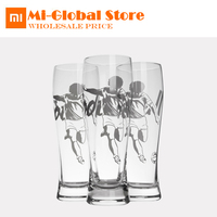 New Arrival XiaoMi 17PIN Beer Cup fans Style 2 pieces football fans cups 430ml Wineglass for party world cup high quality