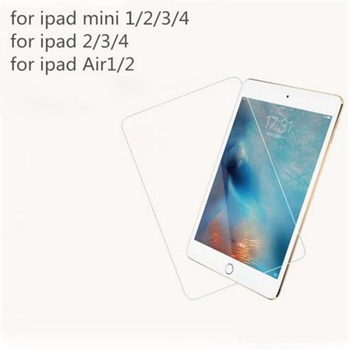 2PCS/Lot Ultra thin 9H 0.3MM Tempered Glass Screen Protector For Apple ipad 2 3 4 5 Air 1 6 Air 2 mini 1 2 3 4 Pro Film Protect