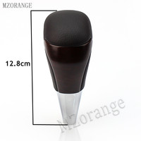 MZORANGE Automatic Gear Shift Knob For TOYOTA Land Cruiser LC200 2016 2018 Interior accessories Gear shifter Hand ball