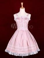 Pink Sleeveless Lolita Dress