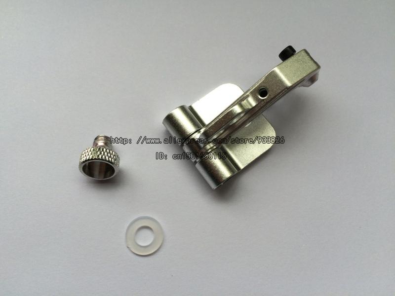 Free Shipping CNC Aluminum Alloy FPV Monitor Mounting Bracket Support Transmitter Silver 10956