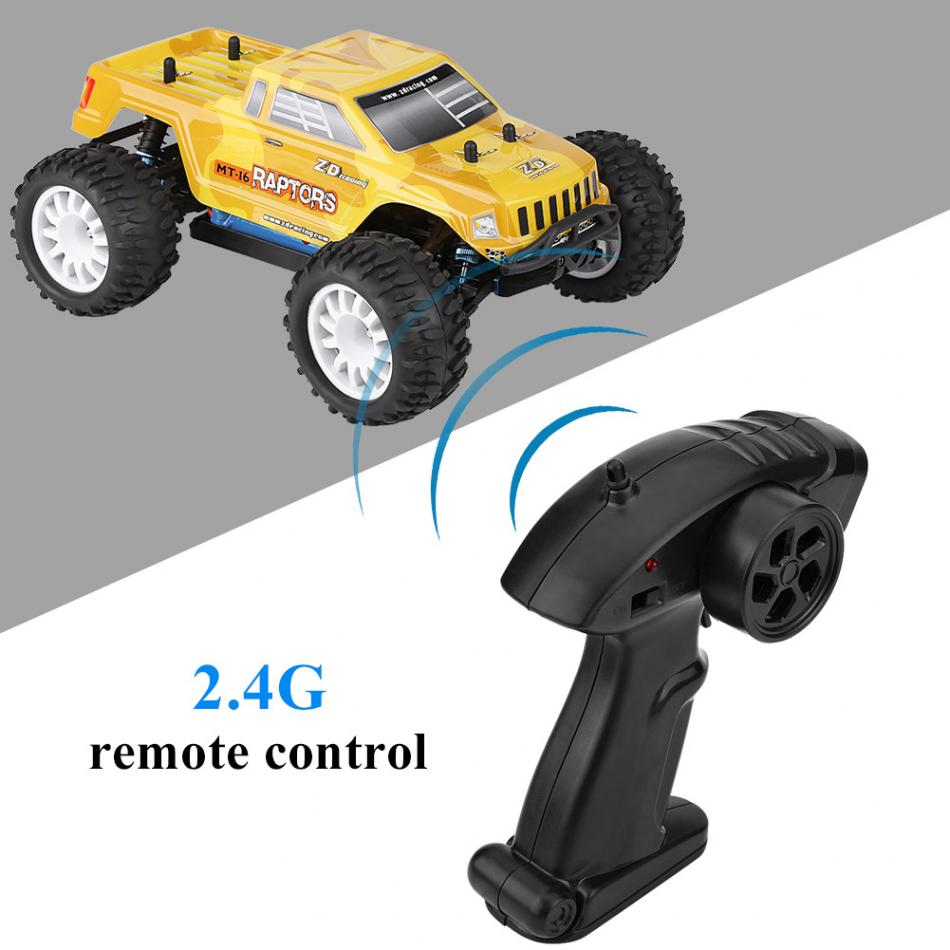 2Types 2.4GHz Remote Control Four-Wheel Drive Brushless Car 1:16 RC Model Toy
