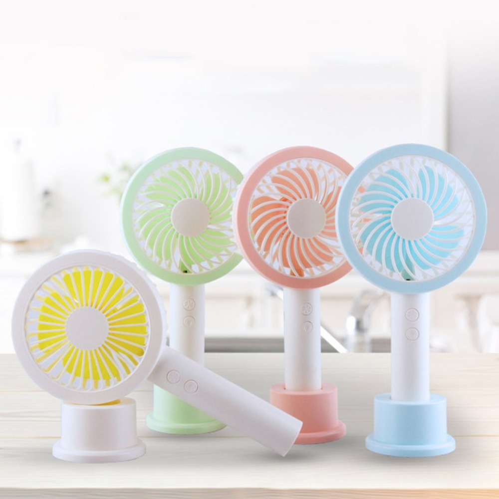 Summer Handheld Fan USB Portable Size Mini Ventilador Summer Cooler Rechargeable Handy Fan for Home Office Best Gift|Fans| |  -