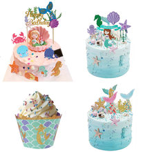 Little Mermaid Party Cupcake Wrappers (China)