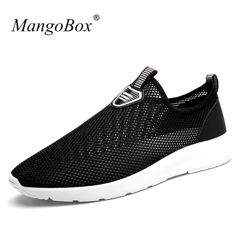 2017 Popular Summer Running Shoes For Men Breathable Mens Runners Brand Cool Mens Sneakers Black Blue Light Mens Sports Trainers