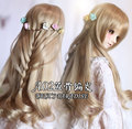NEW 1/3 BJD wig long curly braid hair  doll  DIY for1/3 ,1/4 BJD SD DD MDDdollfie