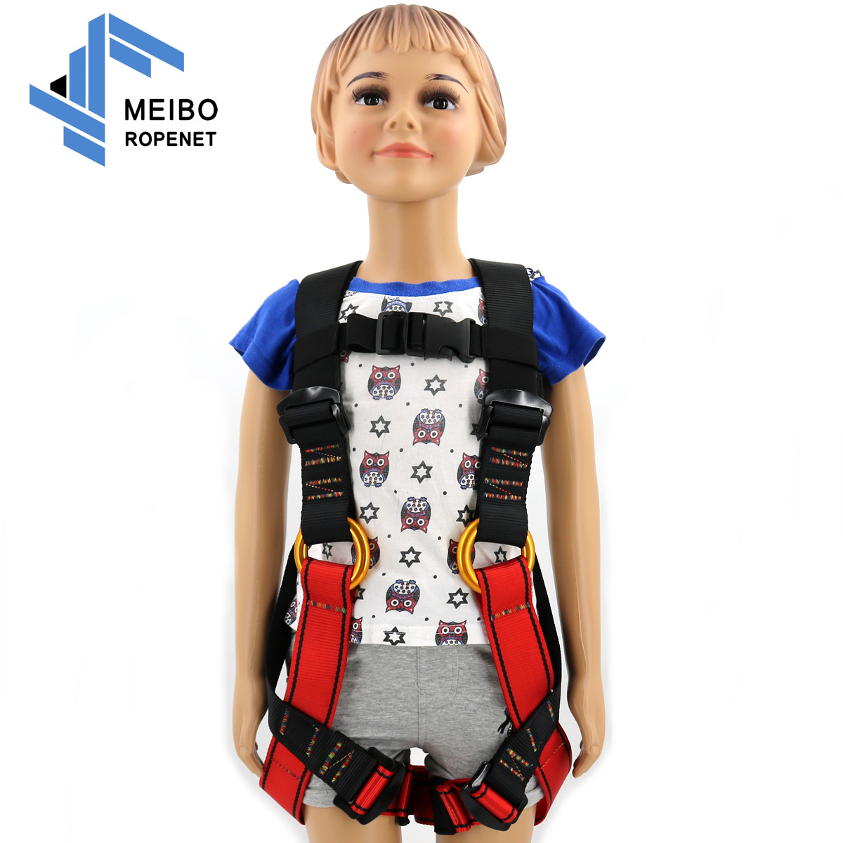 Harness Bust Baby Seat Belt Child Outdoor Rock Climbing Harness Rappelling Equipment Harness Seat Belt with Carrying Bag
