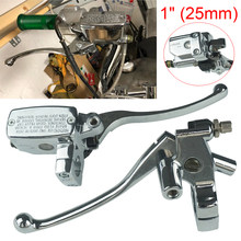 2pcs Brake Lever Master Cylinder Set For Shadow 400 600 750 1100 Steed 400 600(China)