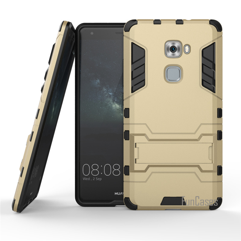 For Huawei Mate S Case Dual Layer Hybrid Rugged Armor Hard PC+TPU 2 In 1 Shockproof With Kickstand Cover