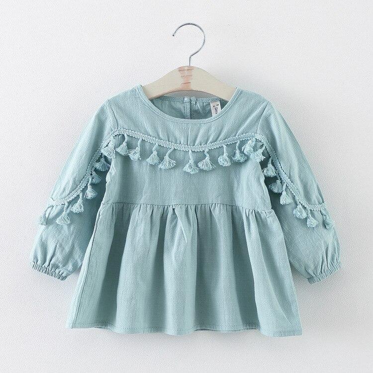 novi 11.11 proljeće jesen tassel beba haljina djevojka odjeća - Odjeća za bebe