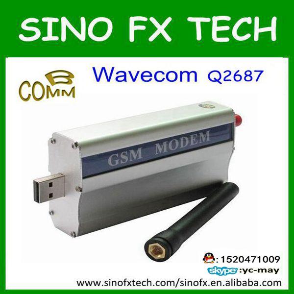 factory wholesale wavecom Q2687 modem wavecom single port modem q2687 serial ports sms modem 3g sms modem sim5360 similar function with sl8080 wavecom gsm gprs sms modem rs232 m2m devices