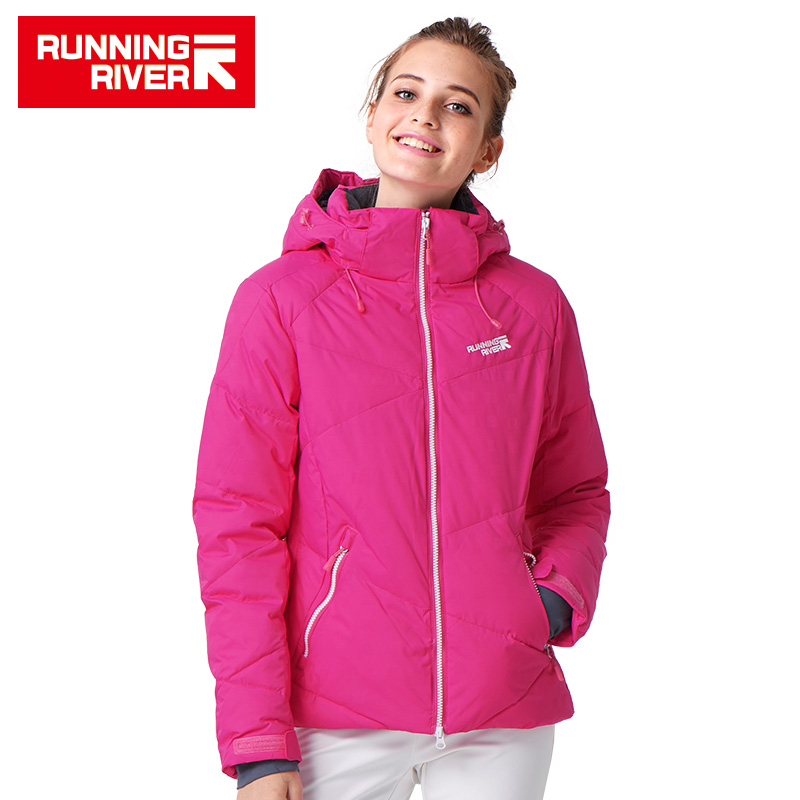 Running River Brand Women Ski Jacket S - XXXL Size 4 Colors Snow Thermal Jackets For Woman Winter Outdoor Sports Jacket #L4973 running river brand men hooded ski jacket for winter 4 colors 6 sizes high quality outdoor sports jackets for man a6026