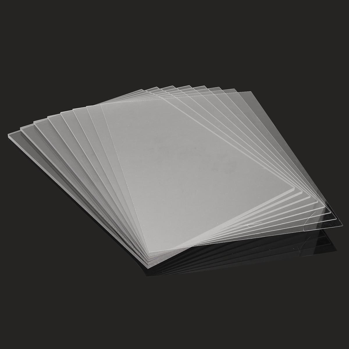 1Pcs A2 420x594mm Acrylic Perspex Sheet Cut Panel Plastic Satin Gloss Board Acrylic Sheet DIY Model Material Plexigla 5/6/8/10MM