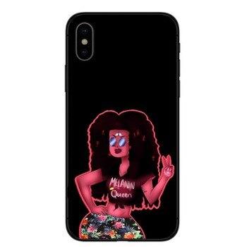 Coque de téléphone Mélanine Poppin Pour iPhone X 8 8 Plus 7 7 Plus 6 6 s Plus 5 5S SE 2 1