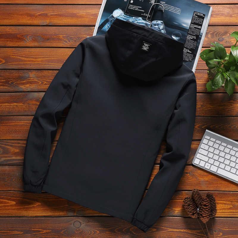 ชายเสื้อซิปใหม่มาถึงแบรนด์สบายๆ Hooded เสื้อแจ็คเก็ตแฟชั่นผู้ชาย Outwear SLIM FIT ฤดูใบไม้ผลิและฤดูใบไม้ร่วงคุณภาพ K11