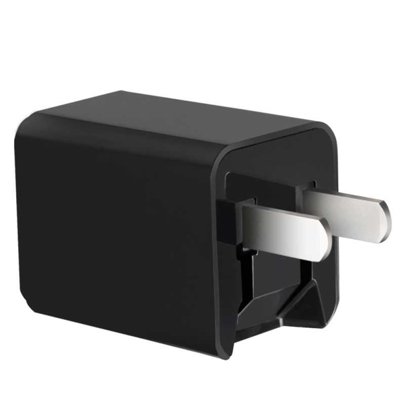 5 فولت 2.4A المزدوج USB الجدار شاحن منفذ شحن سريع الولايات المتحدة التوصيل الهاتف المحمول شاحن آيفون شاومي اللوحي USB محول السفر