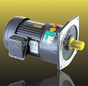 750W 22mm small AC gear motor light duty type single phase motor with 2# gearbox ratio 3~10
