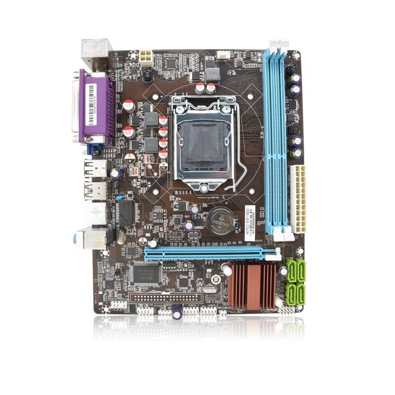 Intel H61 LGA 1155 desktop motherboard micro-ATX DDR3 mainboard for desktop 210*170mm 2 years warranty intel g31 micro atx lga 775 ddr2 computer motherboard blue silver