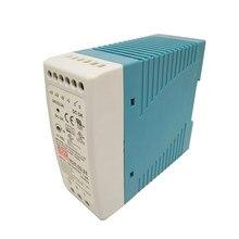 Tamanho Mini Din Rail power supply 12/24 V ac dc comutação de Alimentação 10 W 20 W 40 W 60 W 100 W com Aprovação Ce para o motorista levou