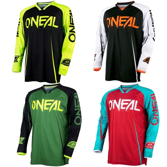 2017 Downhill Jersey MTB Offroad long Racing Riding racing Jersey long T-shirt E Downhill Jersey MTB Off road long motorcycle