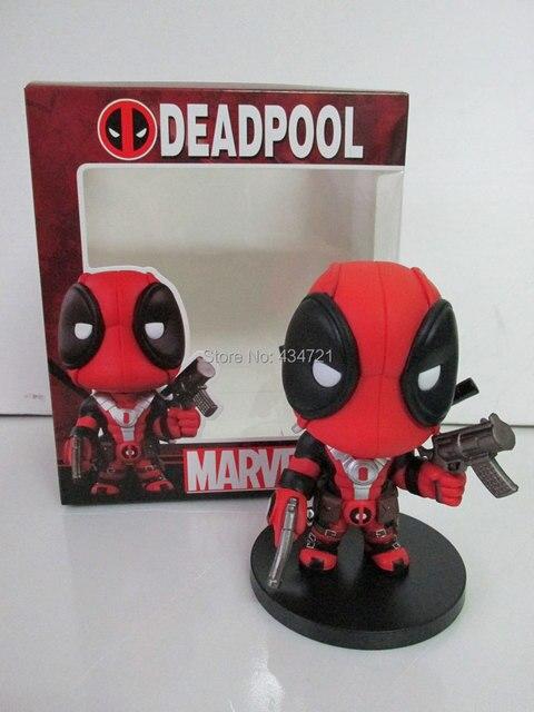 Hot Sale Marvel X Men super herói Deadpool / Wade Wilson arma X de versão bonito PVC figura brinquedos nova na caixa Original