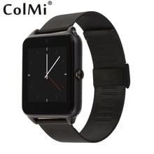 ColMi Smart Uhr GT08 Plus Metallband TF SIM Karte Steckplätze Unterstützen Sync Benachrichtigungen Kompatibel Android telefon iPhone Smartwatch