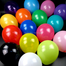 2014 round balloons (50piece/lot )100% latex  wedding party ballon 10inch Red