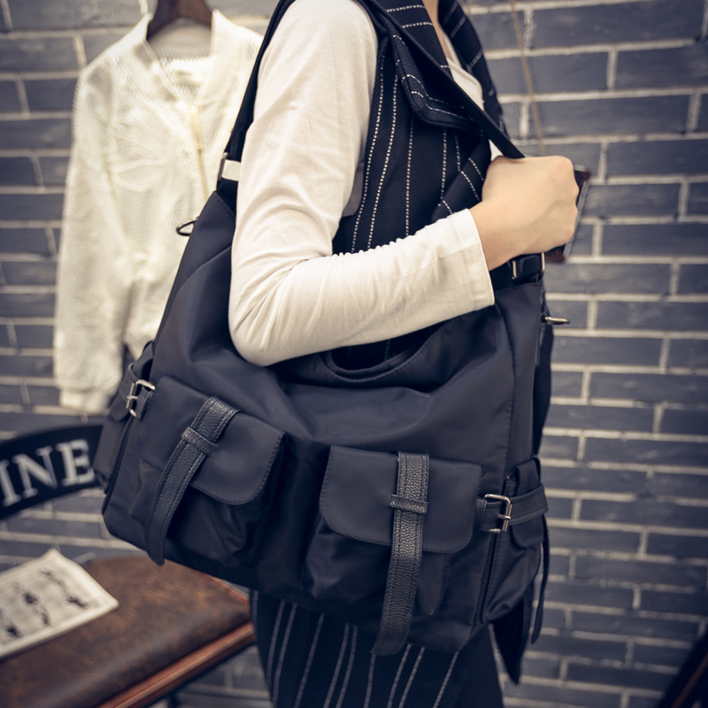 Hot Sale Nylon Women's Handbags Big Size Women Casual Tote Bags Women Messenger Bags Unisex Shoulder Bag Bolsas Feminina цена