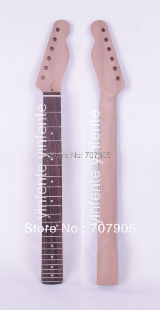 New TL Electric guitar neck Mahogany Rosewood 22 fret 25.5 Unfinished Free shipping Dropshipping Wholesale 1 pcs new electric guitar neck rosewood fretboard truss rod 22 fret 25 5 unfinished free shipping