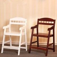 Стул ребенка Обучения стул или для столовой твердой древесины кресло стол и стул дома детская мебель детский стул регулируемая высота