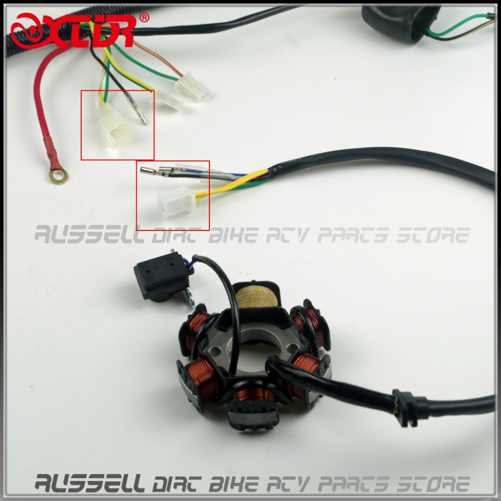 150cc Gy6 Engine Wiring Harness Yerf Dog Cdi Diagram Aliexpress Com Buy Full Electrics Box Magneto Rh Scooter