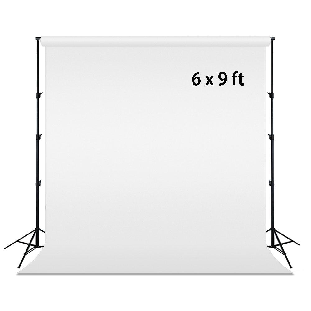 HUAYI 6x9ft coton matériel lavable blanc photographie fonds Photo arrière-plan produit Studio Porps Photo accessoires