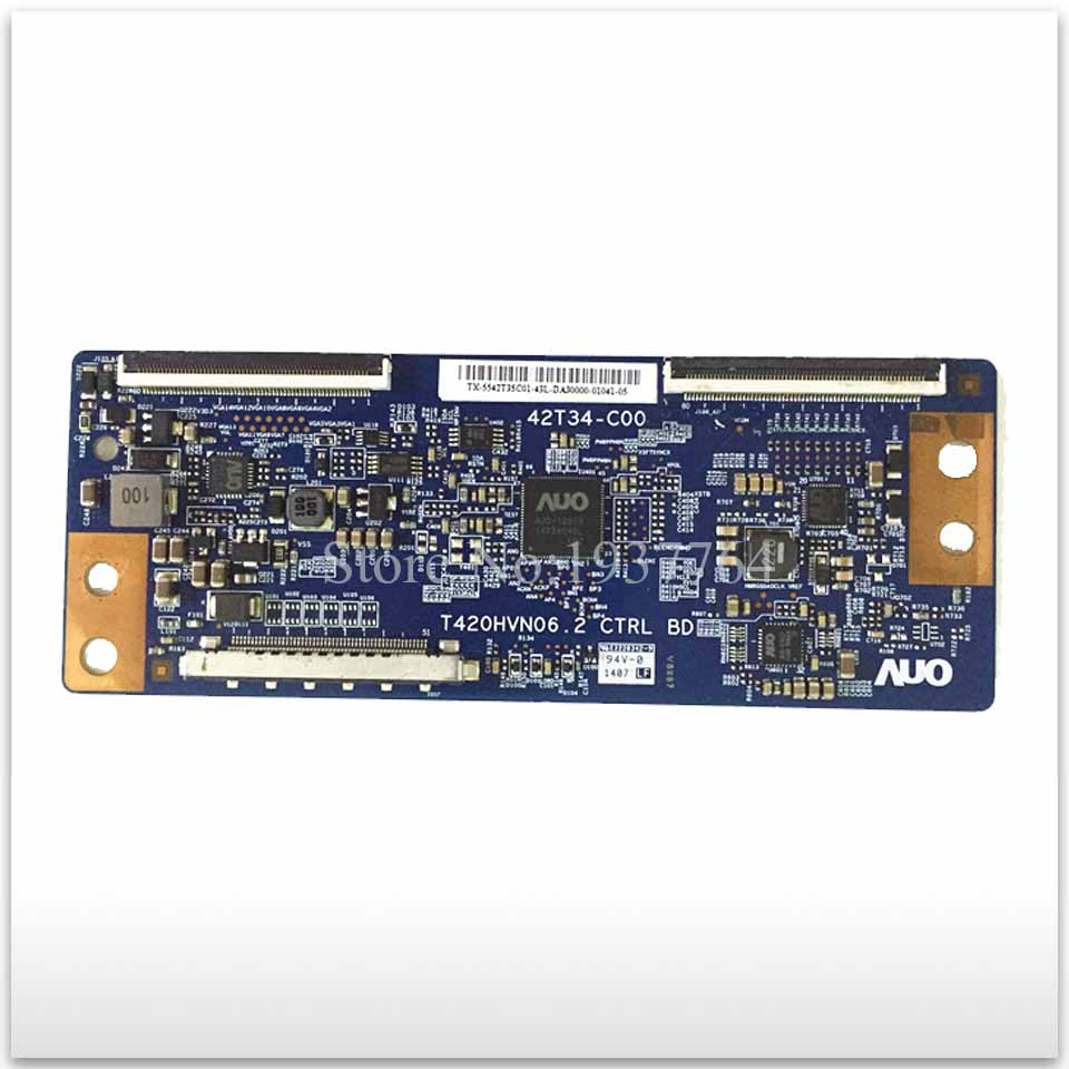 95% new Original board T420HVN06.2 42T34-C00 screen T420HVN06.0 logic board used 55 inch logic 32 37 42 47 55fhd tm120 6870c 0401c used disassemble page 9