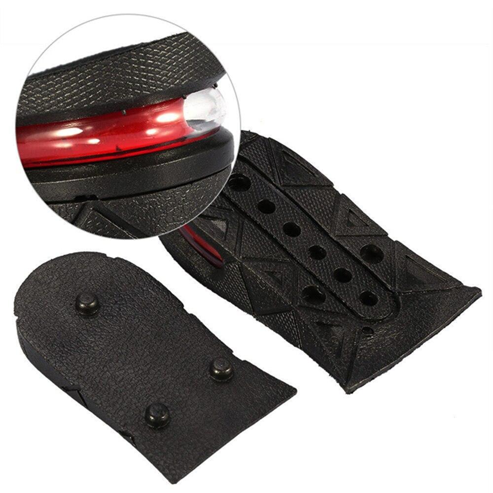 1 пара удобный подъем обуви ТПУ+ ПВХ обувные вставки силикагель стелька здоровый увеличение стельки черный обувь стельки