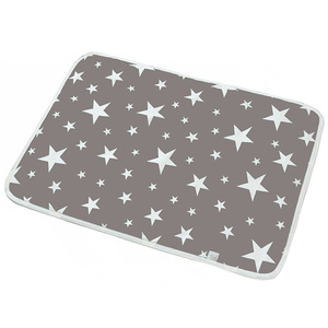Baby Changing mat Portable Foldable Washable waterproof mattress children game Floor mats Reusable travel pad Diaper(China)