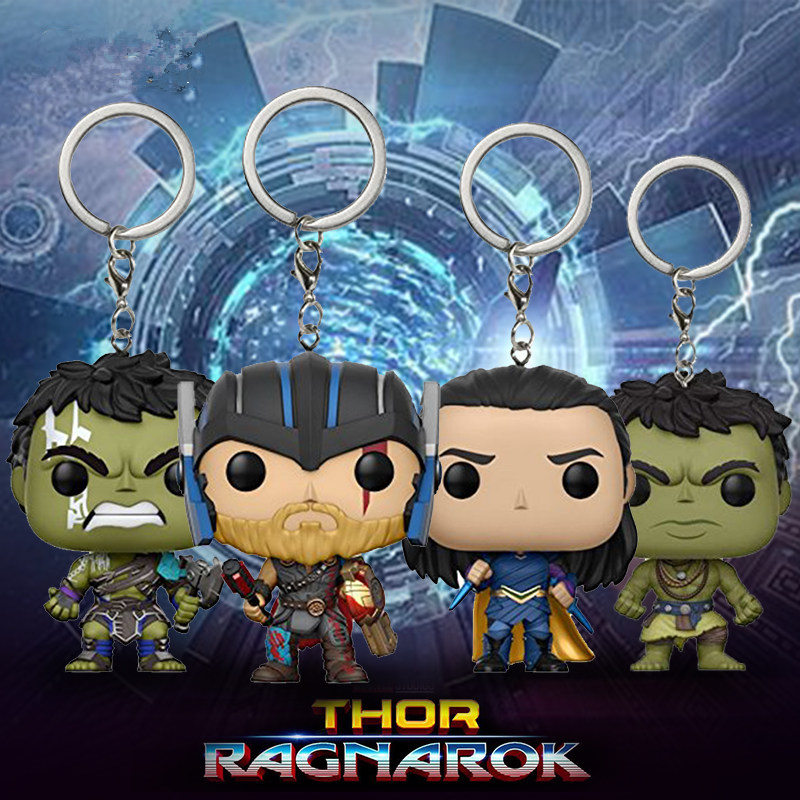 funko-pop-font-b-marvel-b-font-avengers-3-infinity-war-captain-america-loki-thanos-hulk-collection-keychain-action-figure-toys-for-children