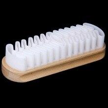 Горячая Чистка скруббер щетка для замши нубук материал обувь/Сапоги/сумки