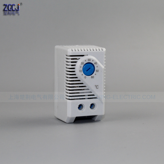 Free shipping 0-60'C Compact Normally Open(NO) Mechanical Stego Cabinet Thermostat Temperature Controller Thermoregulator KTS011