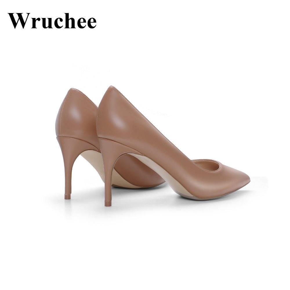 10cm matt Große Heels Wruchee 12cm Dark Matt 12 Cm Größe Arbeits Nude Sommer Schuhe High Farbe 8 10 Spitz 8cm Damen matt w00U4TqxnF