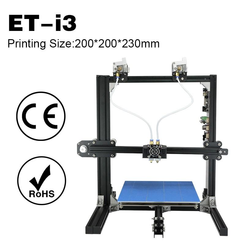 New Arrival Printer 3D Prentara Big Build Size High Speed Printing English Language Nozzle Diameter 0