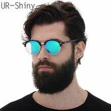 Aoron поляризованный Солнцезащитные очки мужские 2017 Брендовая Дизайнерская обувь UV400 сплав Рамки Солнцезащитные очки для мужчин и женщин трендовые модели Защита от солнца Очки с случае
