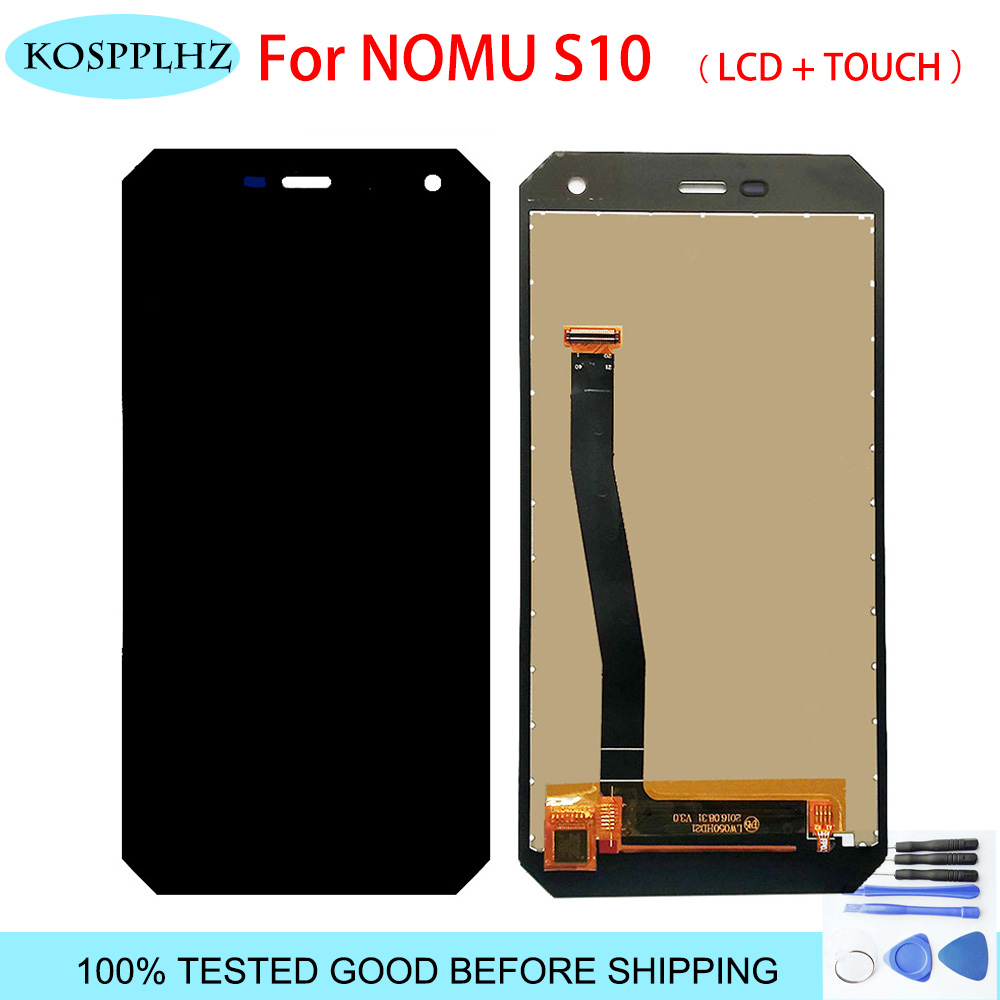 5.0inch 100% Original New Tested for NOMU S10 LCD Display+Touch Screen Assembly Digitizer Replacement For S10 Universal +tools